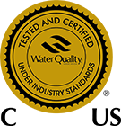 WQA Gold Seal Certification Logo